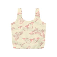 Butterfly Butterflies Vintage Full Print Recycle Bags (s)
