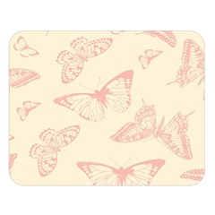 Butterfly Butterflies Vintage Double Sided Flano Blanket (large)