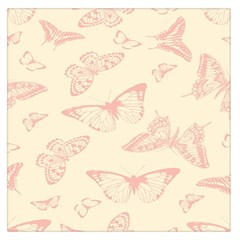 Butterfly Butterflies Vintage Large Satin Scarf (square)