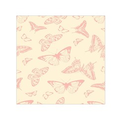 Butterfly Butterflies Vintage Small Satin Scarf (square)