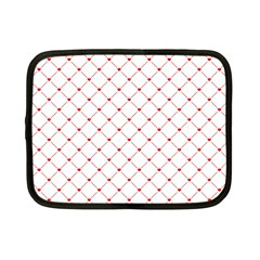 Hearts Pattern Love Design Netbook Case (small)