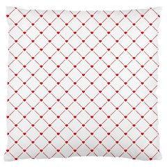 Hearts Pattern Love Design Large Cushion Case (one Side)