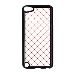 Hearts Pattern Love Design Apple Ipod Touch 5 Case (black)