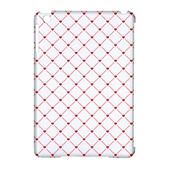 Hearts Pattern Love Design Apple Ipad Mini Hardshell Case (compatible With Smart Cover)