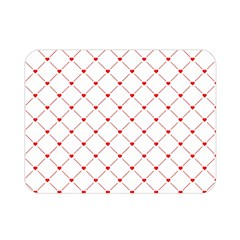 Hearts Pattern Love Design Double Sided Flano Blanket (mini)