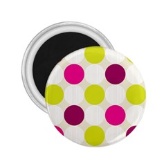 Polka Dots Spots Pattern Seamless 2 25  Magnets