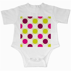 Polka Dots Spots Pattern Seamless Infant Creepers