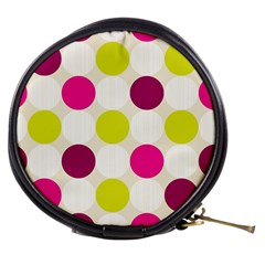 Polka Dots Spots Pattern Seamless Mini Makeup Bags