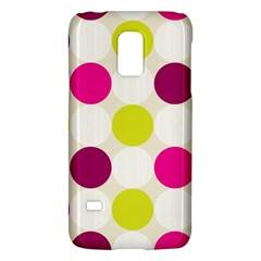 Polka Dots Spots Pattern Seamless Galaxy S5 Mini