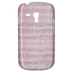Vintage Pink Music Notes Galaxy S3 Mini