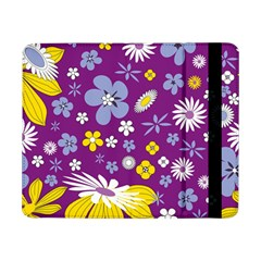 Floral Flowers Wallpaper Paper Samsung Galaxy Tab Pro 8 4  Flip Case