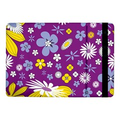Floral Flowers Wallpaper Paper Samsung Galaxy Tab Pro 10 1  Flip Case