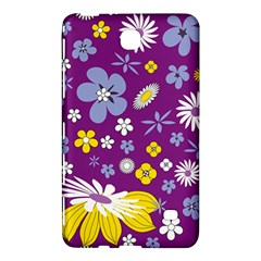 Floral Flowers Wallpaper Paper Samsung Galaxy Tab 4 (7 ) Hardshell Case