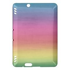 Background Watercolour Design Paint Kindle Fire Hdx Hardshell Case
