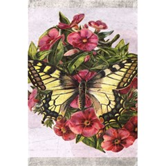 Vintage Butterfly Flower 5 5  X 8 5  Notebooks