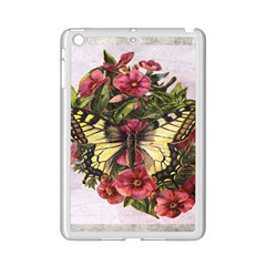 Vintage Butterfly Flower Ipad Mini 2 Enamel Coated Cases