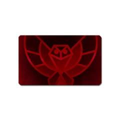 Bird Owl Eagle Owl Fragment Magnet (name Card)