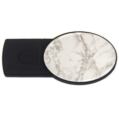 Marble Background Backdrop Usb Flash Drive Oval (2 Gb)