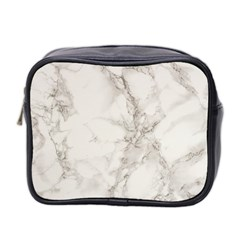 Marble Background Backdrop Mini Toiletries Bag 2 Side