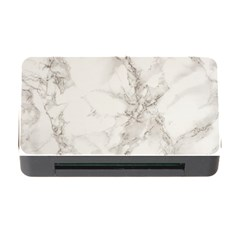 Marble Background Backdrop Memory Card Reader With Cf