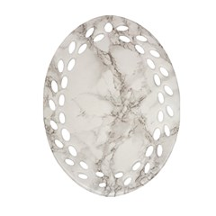 Marble Background Backdrop Ornament (oval Filigree)