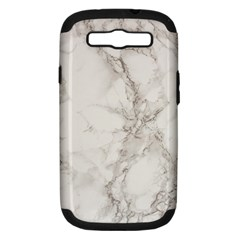 Marble Background Backdrop Samsung Galaxy S Iii Hardshell Case (pc+silicone)