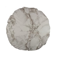 Marble Background Backdrop Standard 15  Premium Round Cushions