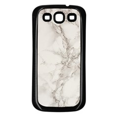Marble Background Backdrop Samsung Galaxy S3 Back Case (black)