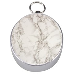 Marble Background Backdrop Silver Compasses