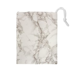 Marble Background Backdrop Drawstring Pouches (large)