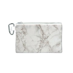 Marble Background Backdrop Canvas Cosmetic Bag (s)