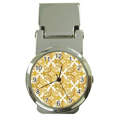 Gold Pattern Wallpaper Fleur Money Clip Watches
