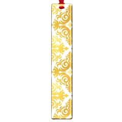 Gold Pattern Wallpaper Fleur Large Book Marks