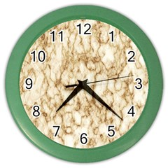 Abstract Art Backdrop Background Color Wall Clocks