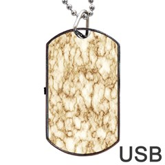 Abstract Art Backdrop Background Dog Tag Usb Flash (two Sides)