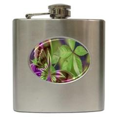 Arrangement Butterfly Aesthetics Hip Flask (6 Oz)