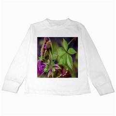 Arrangement Butterfly Aesthetics Kids Long Sleeve T Shirts