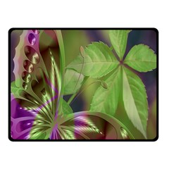 Arrangement Butterfly Aesthetics Fleece Blanket (small)