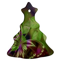 Arrangement Butterfly Aesthetics Christmas Tree Ornament (two Sides)