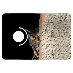 Owl Hiding Peeking Peeping Peek Kindle Fire Hdx Flip 360 Case