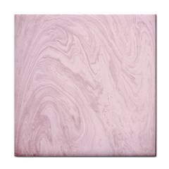 Marble Background Texture Pink Tile Coasters