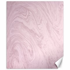 Marble Background Texture Pink Canvas 8  X 10