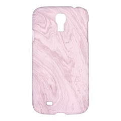 Marble Background Texture Pink Samsung Galaxy S4 I9500/i9505 Hardshell Case