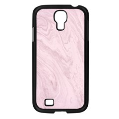 Marble Background Texture Pink Samsung Galaxy S4 I9500/ I9505 Case (black)