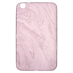 Marble Background Texture Pink Samsung Galaxy Tab 3 (8 ) T3100 Hardshell Case