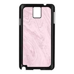 Marble Background Texture Pink Samsung Galaxy Note 3 N9005 Case (black)