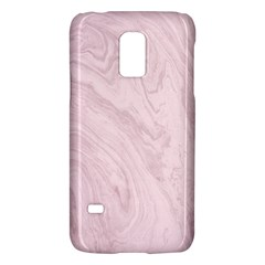 Marble Background Texture Pink Galaxy S5 Mini