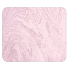 Marble Background Texture Pink Double Sided Flano Blanket (small)