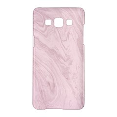 Marble Background Texture Pink Samsung Galaxy A5 Hardshell Case