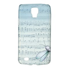 Vintage Blue Music Notes Galaxy S4 Active